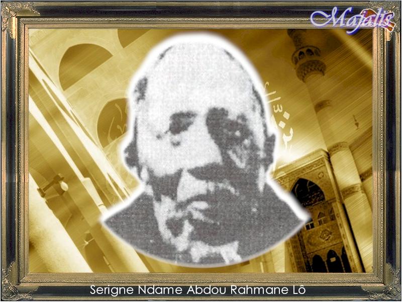 Serigne Ndame Abdou Rahmane LÔ