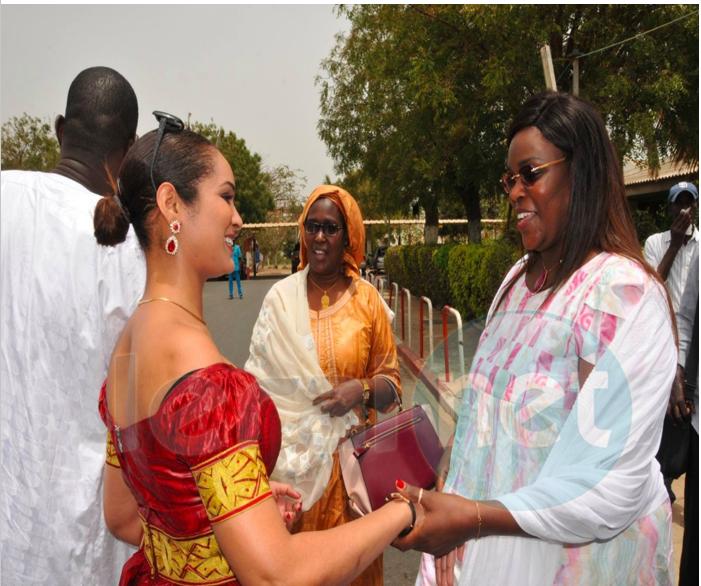 La femme de Abdou Aziz Mbaye et Marième Faye Sall