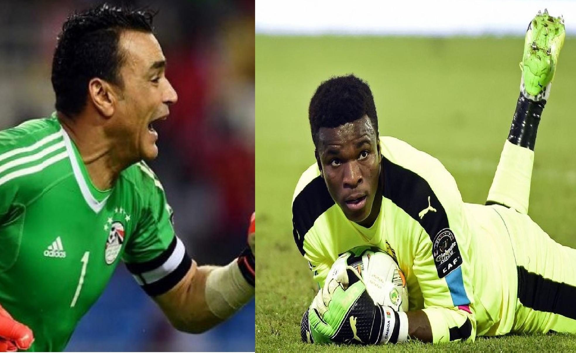 Finale Cameroun/Egypte:  les portiers El Hadary et Ondoa, un duel des extrêmes