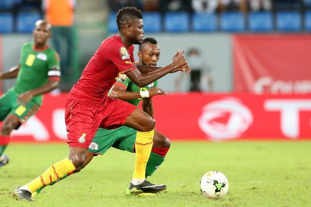 Le Burkina a pris le dessus sur le Ghana. (AFP)