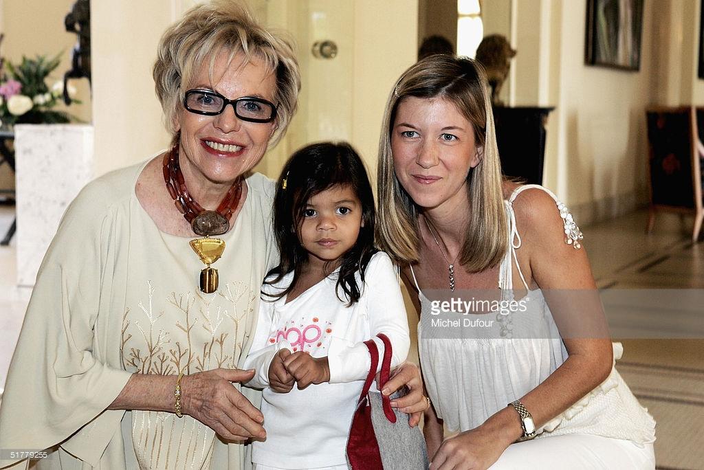 ( 03 Photos ) Images rares de Viviane Wade avec sa belle-fille Karine, la défunte épouse de Karim Wade