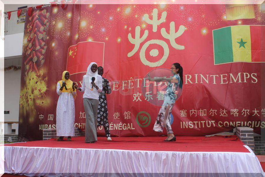 Vidéo-photos: Cérémonie de fête du nouvel an chinois à l'Institut Confucius de Dakar