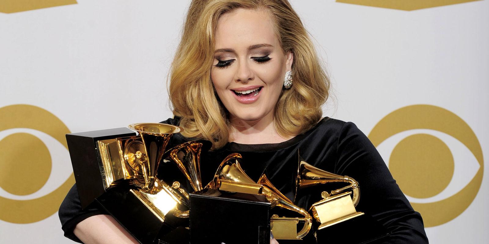 Grammy Awards : Carton plein pour Adèle, grande performance de Beyoncé