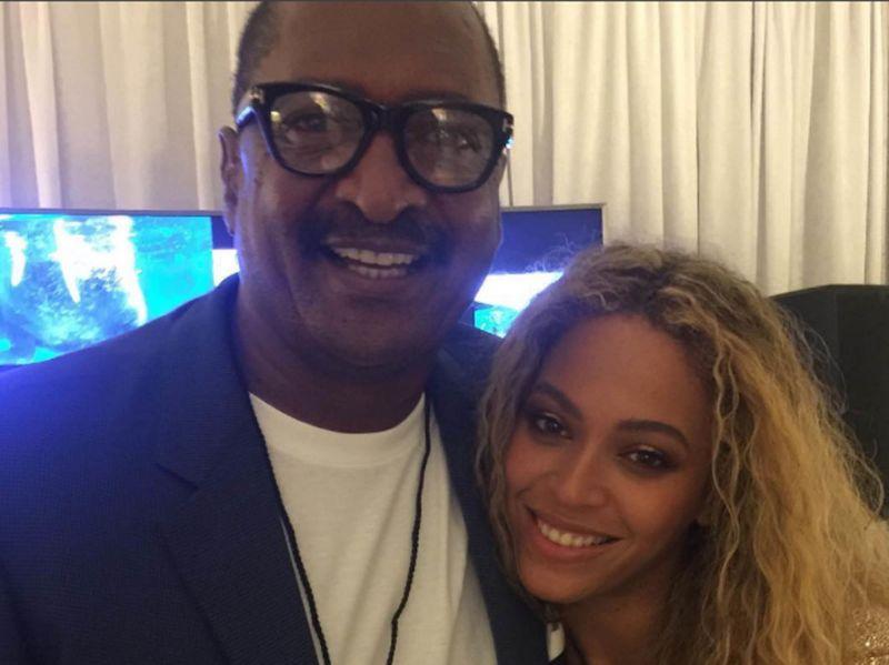 Mathew et Beyoncé Knowles