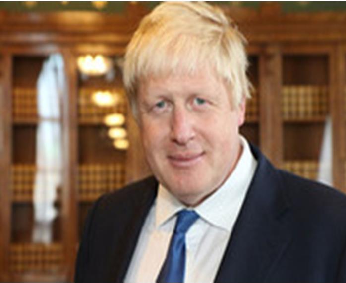 Boris Johnson, ministre Britannique des Affaires Etrangères