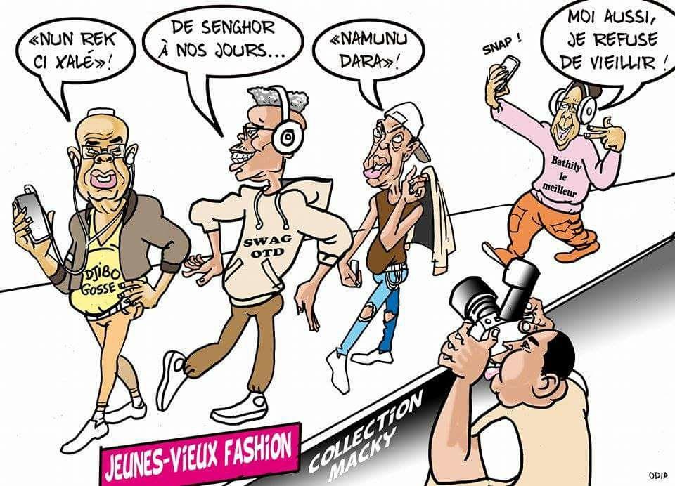 Ils refusent de vieillir...par Odia (La Tribune )