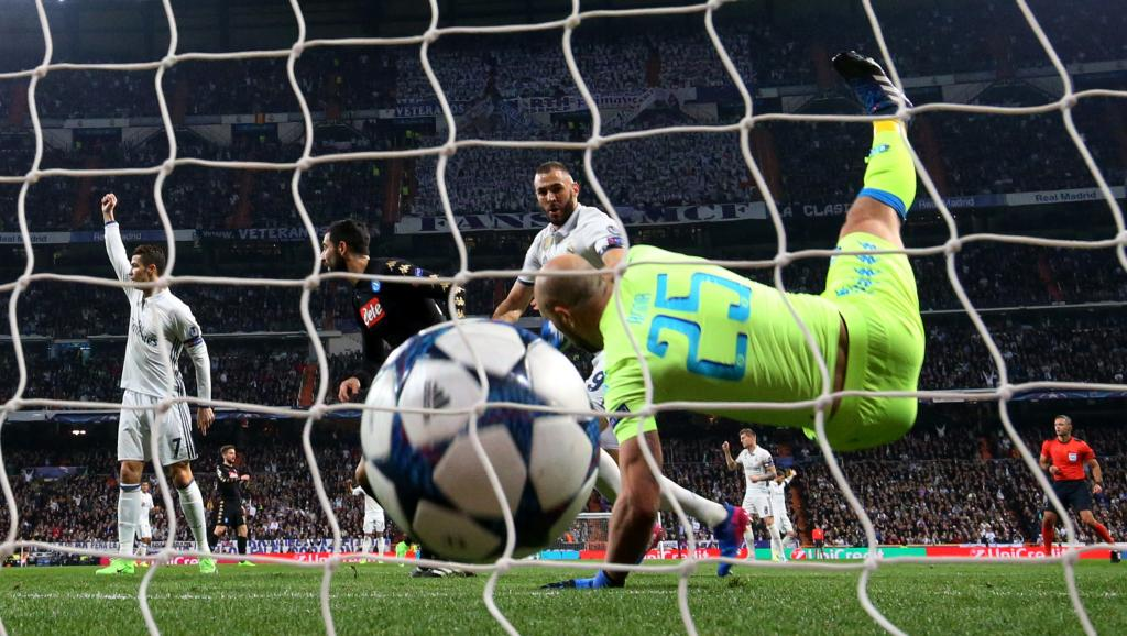 Ligue des champions : Le Real Madrid tenant du titre s'impose face à Naples (3-1)