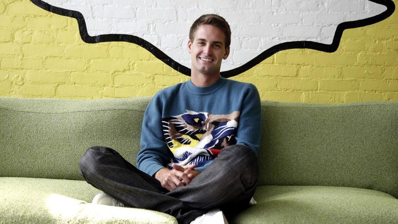 Evan Spiegel : milliardaire à 24 ans grâce à Snapchat