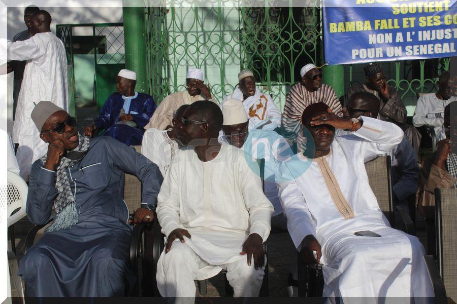 Les membres du Mouvement pour la libération de Bamba
