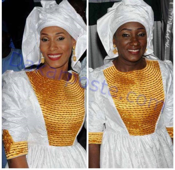Voici les deux...premières dames de la Gambie!