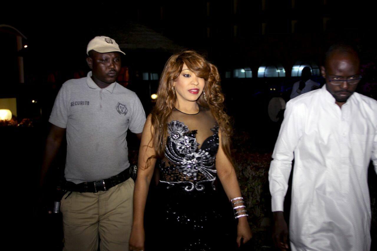 Viviane Chedid fait chavirer le coeur des Tchadiens au Festival International de Kélou Fashion de Ndjaména
