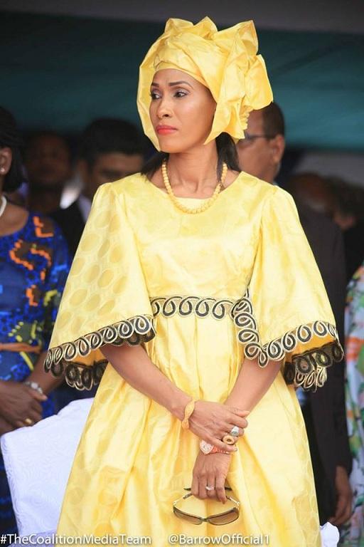 Des deux Premières dames d'Adama Barrow, qui est la plus belle?