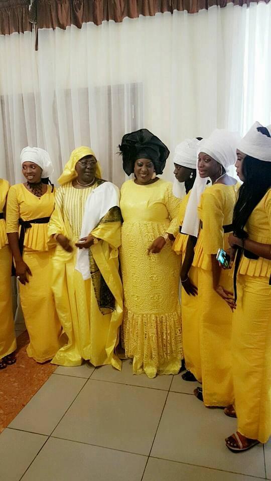 Derrière Serigne Modou Kara, de grandes dames, Sokhna Dieng et Toutane Diack Mbacké