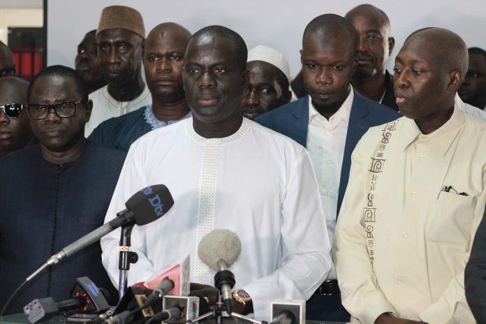 Manko continue de récuser Abdoulaye Daouda Diallo: « Nous montrerons que le processus est déjà corrompu »