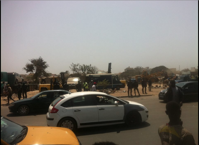 Ancienne piste de Dakar : Les garages de mécaniciens déguerpis