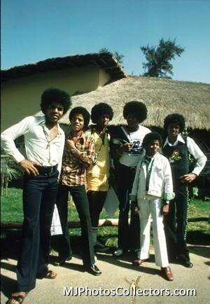 Michael Jackson et ses frères (Jackson 5) à Dakar !