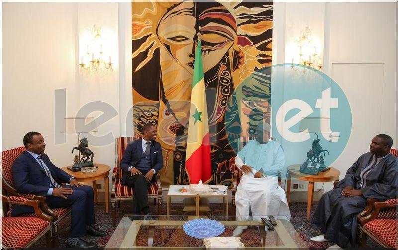 Kabirou Mbodj et SE Macky Sall