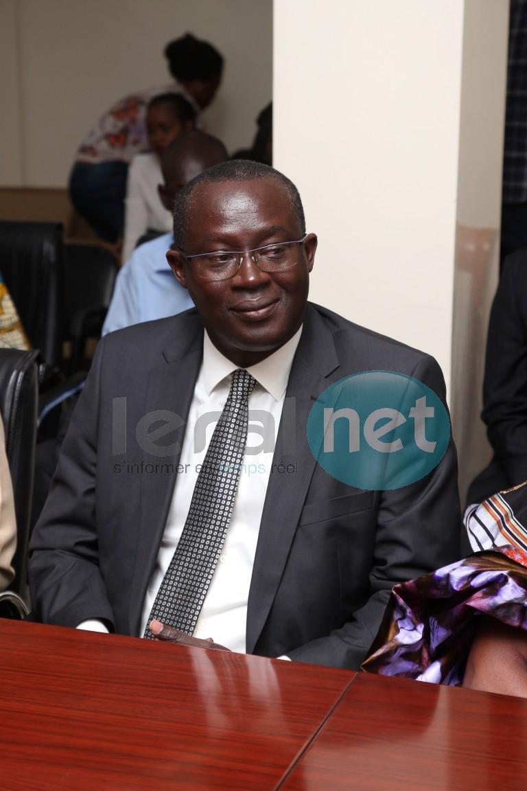 Augustin Senghor, président Fédération Sénégalaise de Football