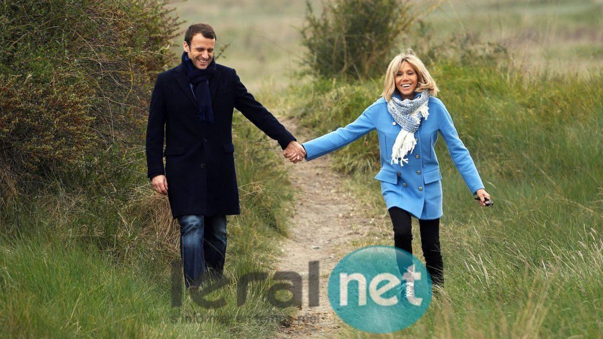 Emmanuel Macron, le président et sa femme Brigitte, la Première dame, l'amour n'a pas d'âge (18 photos)