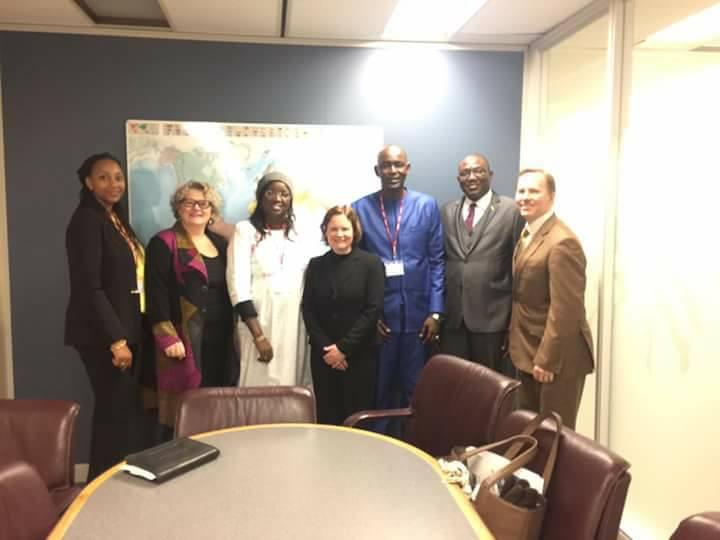 Les députés Cheikh Oumar Sy et Elene Tine à Ottawa