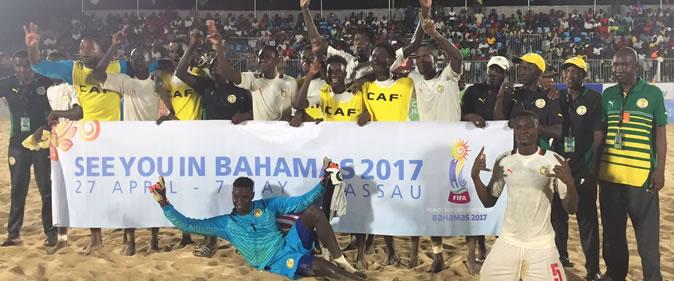 MONDIAL BEACH SOCCER 2017 : Le Sénégal confiant