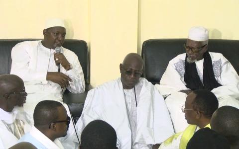 """Serigne Sidi Mokhtar Mbacké à Adama Barrow: """"Faites de sorte que vos électeurs ne soient pas déçus..."""""""