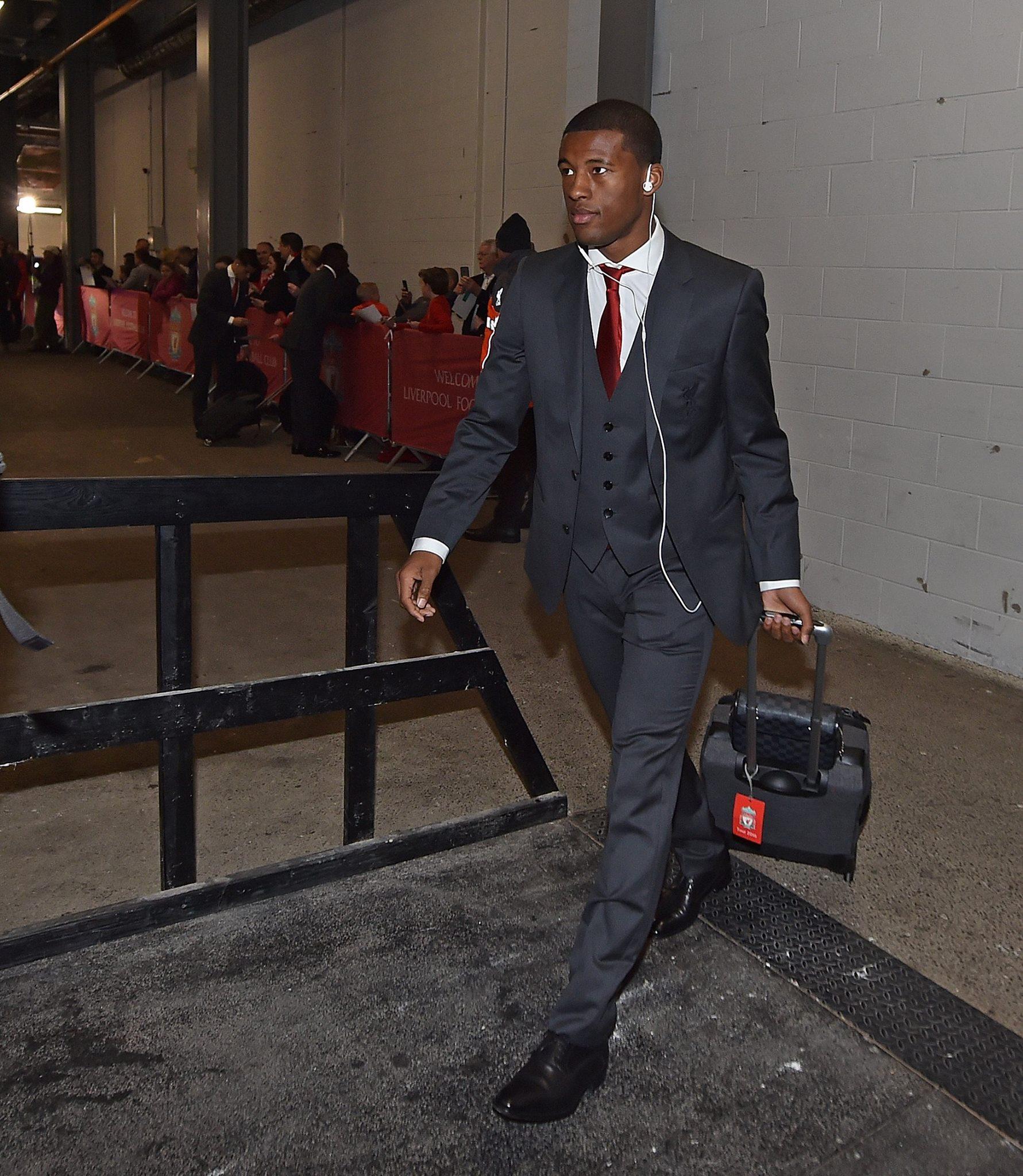 Galerie: Arrivée de Sadio Mané et de ses co-équipiers à Anfield à quelques minutes du choc contre Arsenal