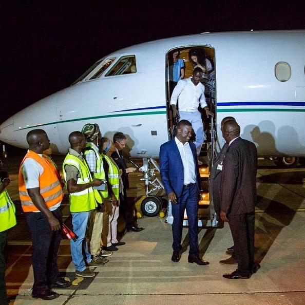 Akon en Gambie, les images de son arrivée