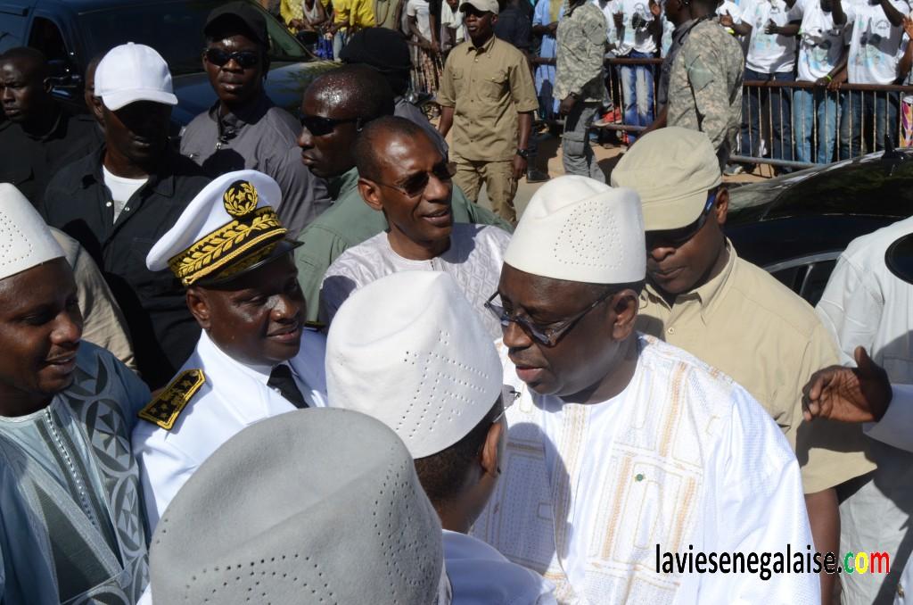 Pour cause de deuil chez la famille Omarienne : Macky Sall annule les festivités de sa visite à Louga