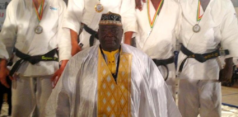 Feu Ababacar Mbaye Boye, initiateur du tournoi international de judo de Saint Louis.