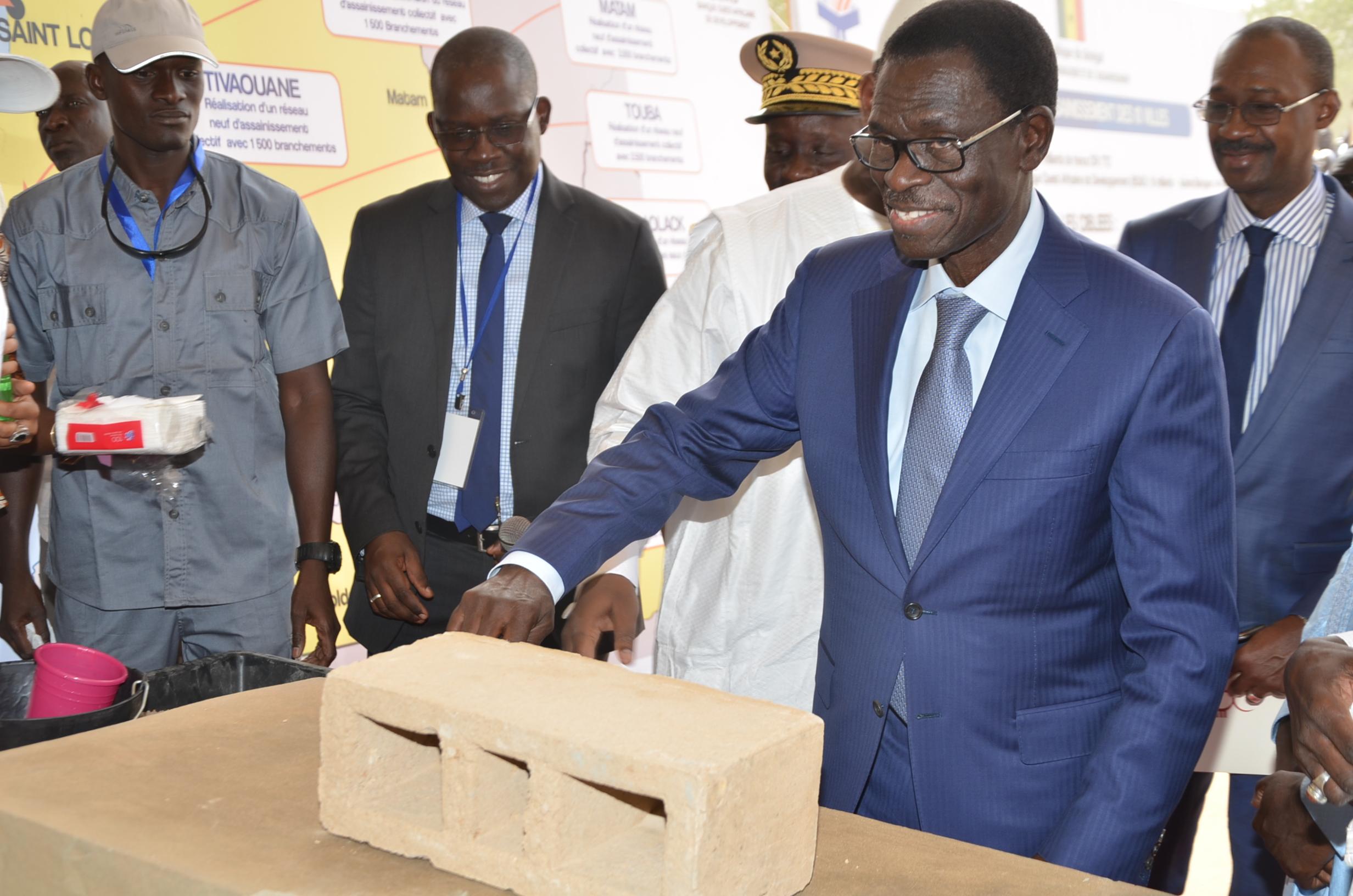 Les images de la visite du Président Macky Sall à Louga