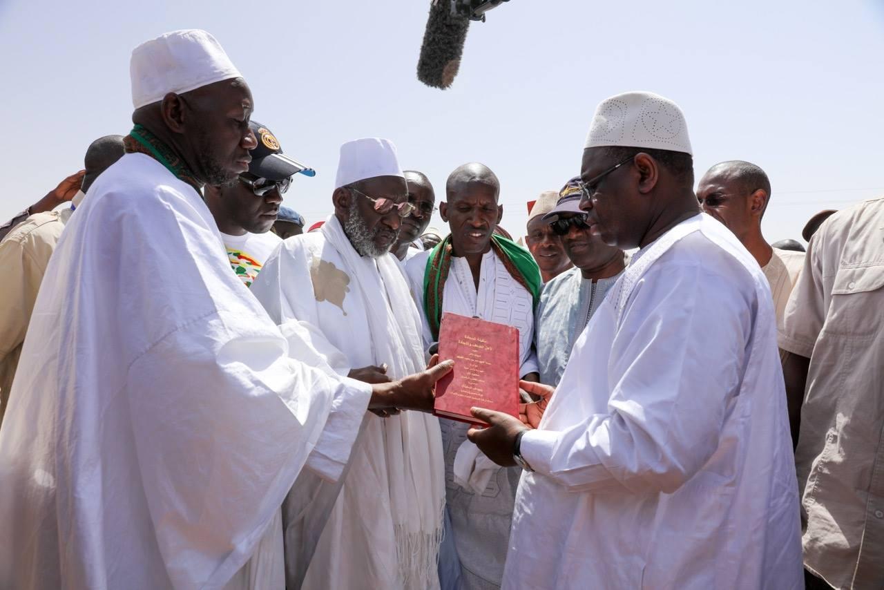 Travaux de désenclavement de l'Ile à Morphil: Le président livre le coup de pioche aux populations du Fouta