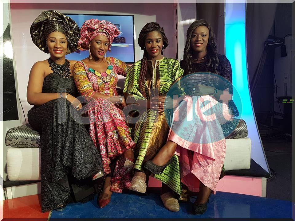 Photos- 08 Mars, la femme honorée sur la RTS1 dans l'émission Kenkeliba