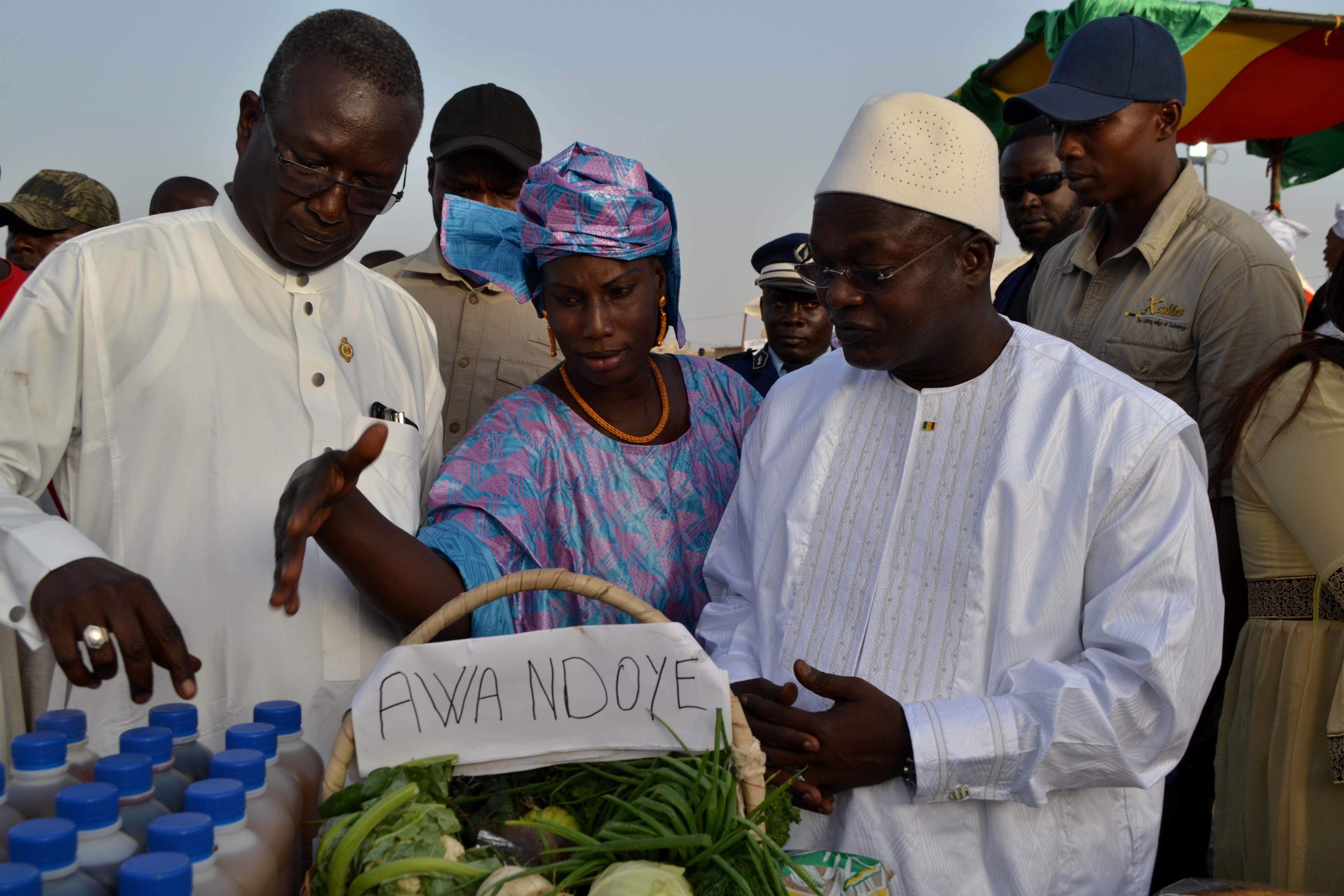 Célébration de la journée internationale de la femme: le Ministre Oumar Guèye accompagne les femmes de Kounoune Ngarap