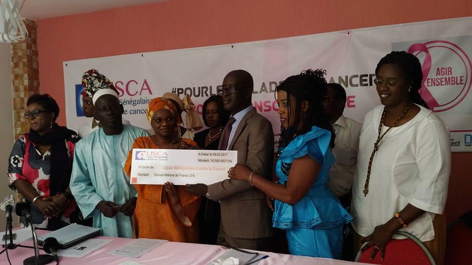 Prés 24 millions de francs CFA récoltés pour les malades du cancer (Collectif 200 Millions Challenge)