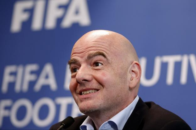 Gianni Infantino, le président de la Fifa. (Reuters)