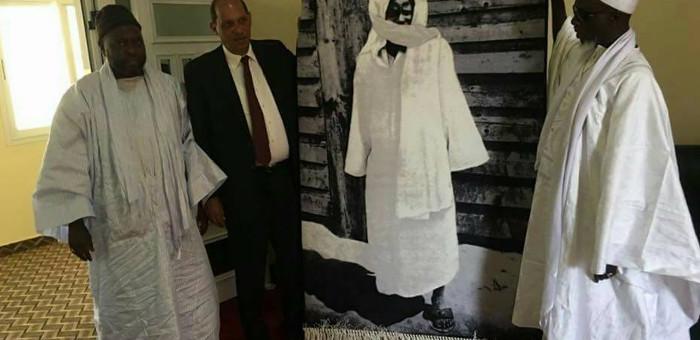 Touba : L' Ambassadeur d'Egypte a rendu visite au Khalife Général des Mourides