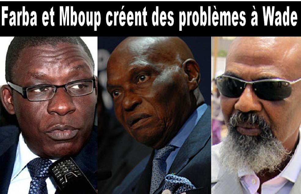 """Visite des frondeurs du PDS à Touba, Pape Samba Mboup """"brûle"""" Karim Wade"""
