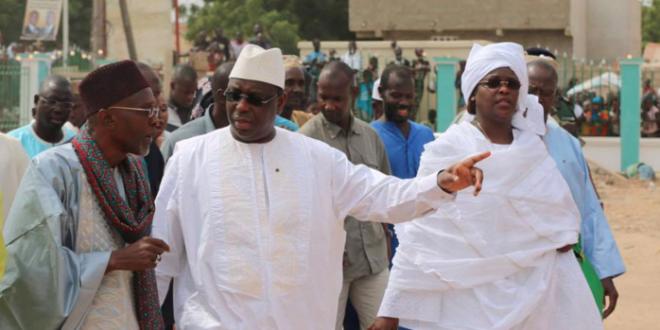 Kaolack : Macky Sall inaugure la mosquée de Léona Niassene entièrement réhabilitée (photos)