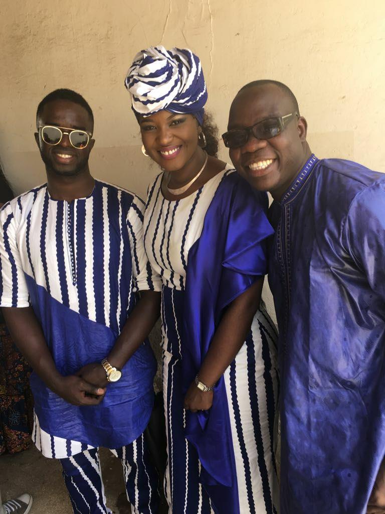 Photo- Le groupe Mabo avec Abdou Guité Seck au camp pénal de Liberté6