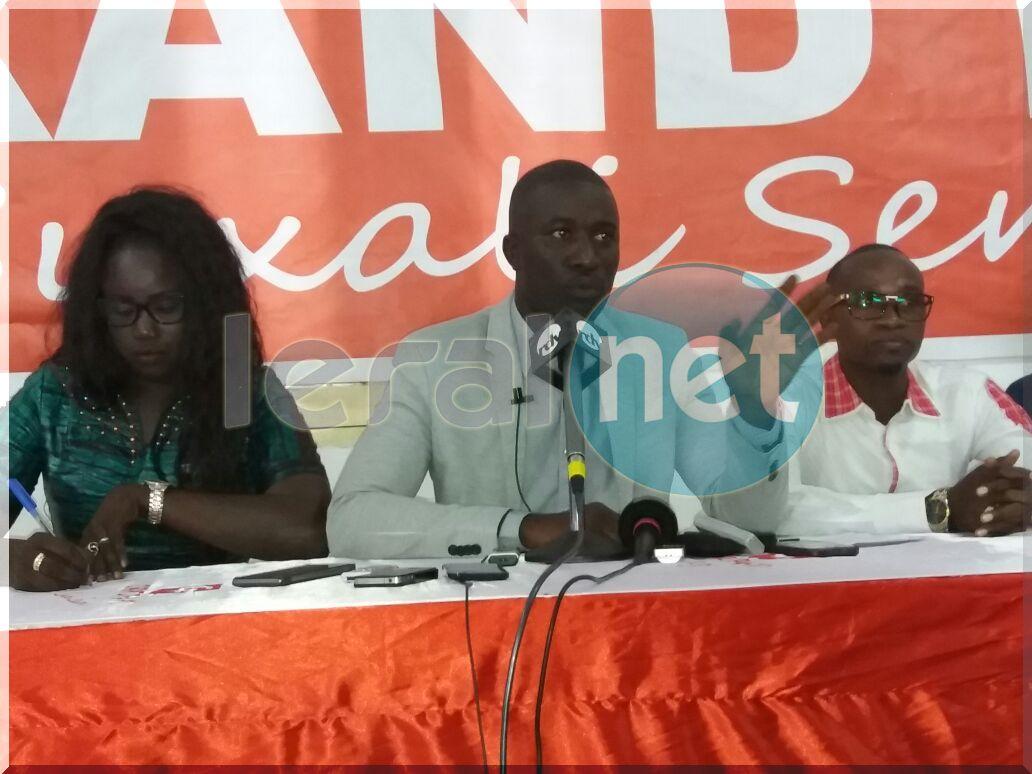 Les jeunes du Grand Parti dans les rues de Guédiawaye ce 22 mars à 16h pour soutenir Khalifa Sall