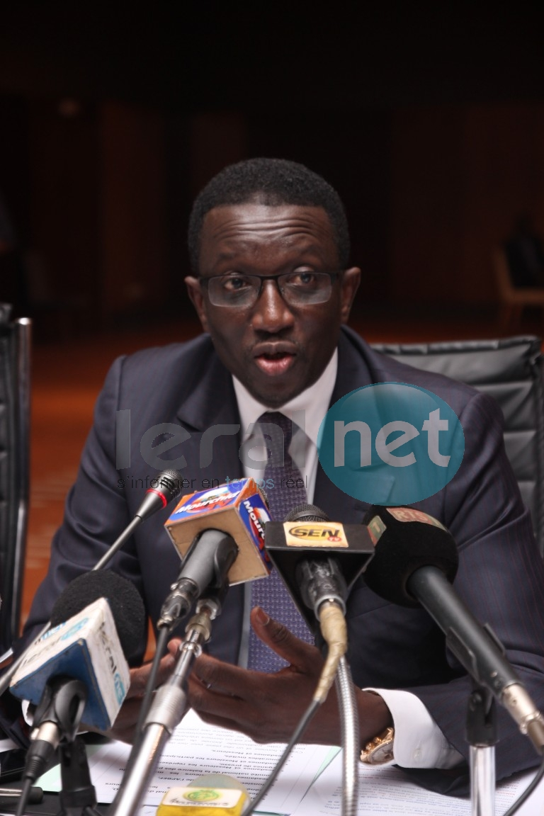 Mr Amadou Ba, ministre des finances