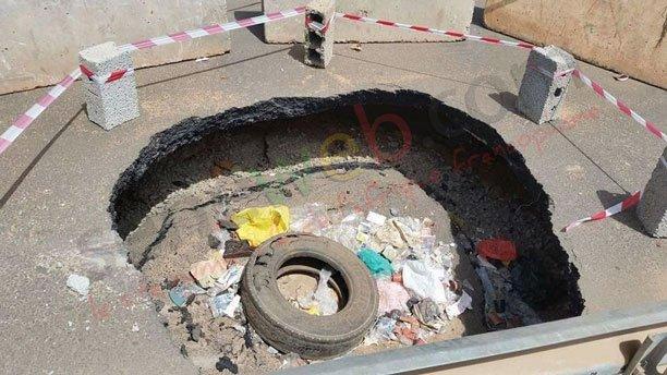 Échangeur de l'émergence : cachez ce trou que Macky Sall ne saurait voir !