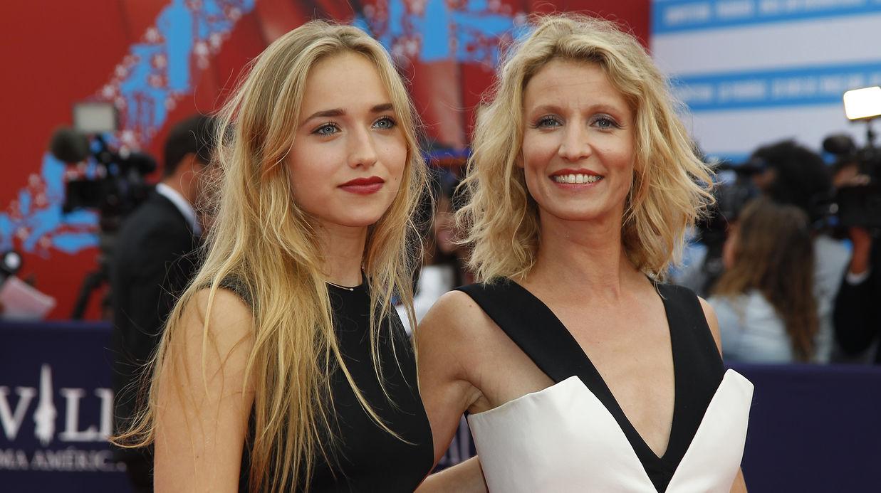Alexandra Lamy et sa fille Chloé Jouannet