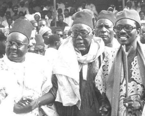 Abdoul Aziz Sy Dabakh, Mansour Sy Borom Daradji et Cheikh Tidiane Sy Al Maktoum in memoriam