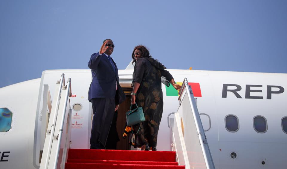 Le Président Macky Sall est arrivé en Suisse