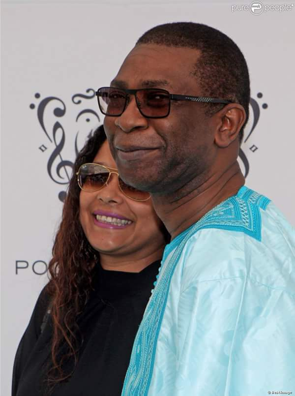 Youssou Ndour et sa femme Aïda Coulibaly en toute complicité