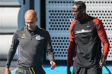 Guardiola et Touré ont fait la paix cette saison