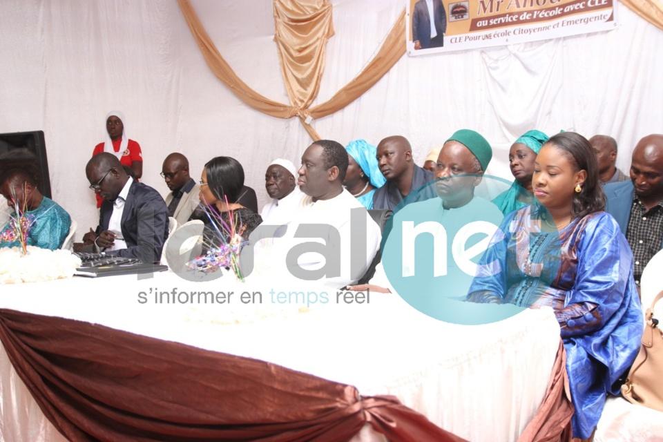 Photos- cérémonie de lancement du mouvement Collégiens et Lycéens pour l'Émergence (CLE) à Guédiawaye