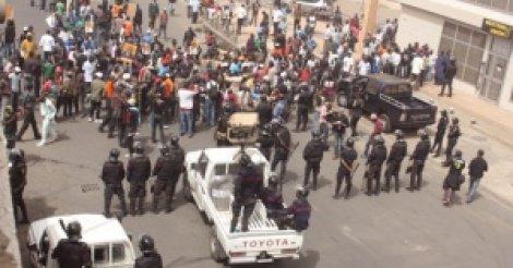 Manifestations à Thiès : Cinq personnes arrêtées